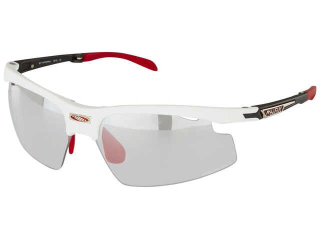 Rudy Project Synform Glasses White Matte/ImpactX Photochromic 2 Laser Black